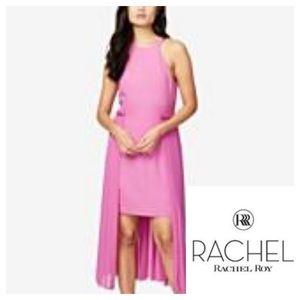 NWOT RACHEL Rachel Roy Pink High Low Dress Size 14
